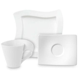 Villeroy & Boch 10 2525 9014 New Wave Kaffee Set 12 teilig, 4