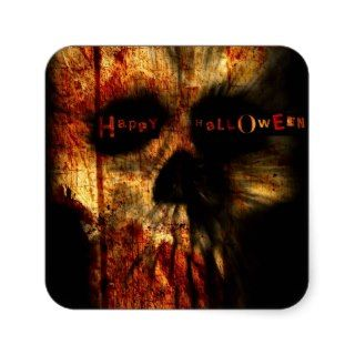 Halloween Scary Skull Stickers
