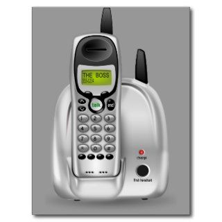 52 Free 3d Cordless Phone Clipart Illustration Postcard