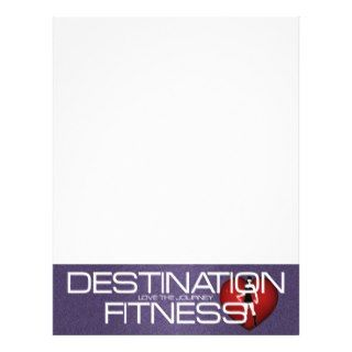 TOP Destination Fitness Flyer Design