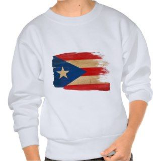 PR Flag copy.png Pullover Sweatshirts