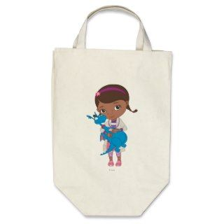 Doc McStuffins Holding Stuffy Bag