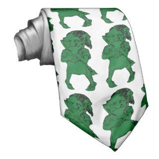 St. Patrick's Day Leprechauns Mens Neck Tie