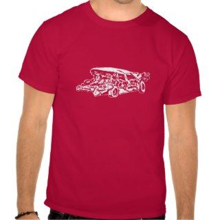 Demolition Derby Car Tshirt