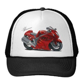 Hayabusa Red Bike Trucker Hats