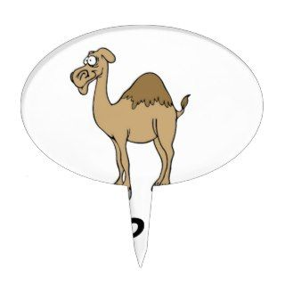 Hump Day Camel Cake Toppers