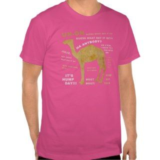 Hump Day Camel Tee Shirt Vintage