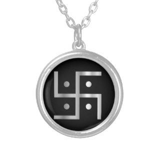 Symbol of Hinduism Swastika Necklace