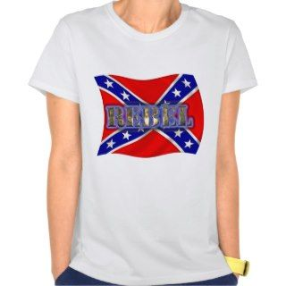 Rebel Confederate Flag Tees