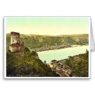 Katz Castle, Goarshausen (i.e., Sankt Goarshausen) Greeting Cards