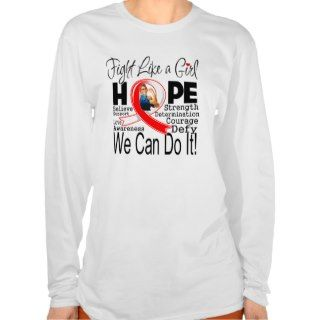 Aplastic Anemia Fight We Can Do It T Shirt
