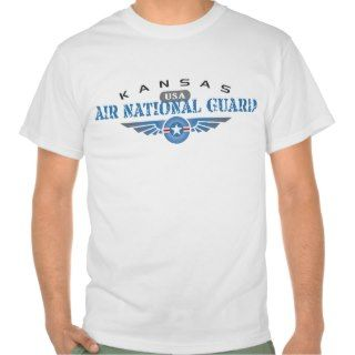 Kansas Air National Guard T shirt