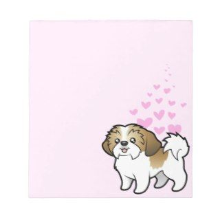 Shih Tzu Love (puppy cut) Notepad