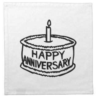 Happy Anniversary Napkins