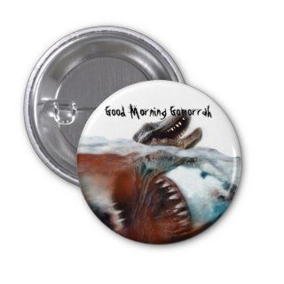 Good Morning Gomorrah: Megalodon Pin