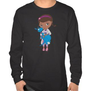 Doc McStuffins Holding Stuffy Tee Shirts