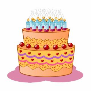 Birthday cake clipart photo sculptures