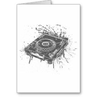Pioneer CDJ 1000 Graffiti Cards