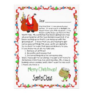 make a child feel extra special with a letter santa