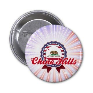 Chino Hills, CA Pinback Button