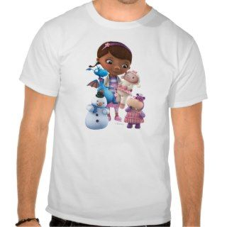 Doc McStuffins and Her Animal Friends Tee Shirts