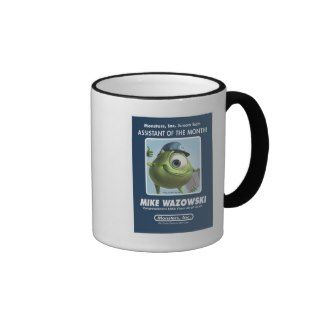 Monsters Inc. Mike Wazowski Assistant of the Month Mug
