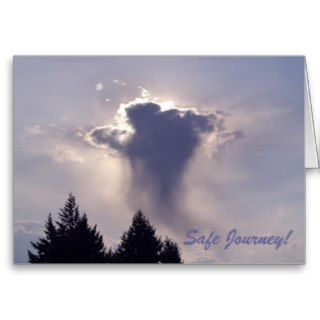 SAFE JOURNEY Greeting Card