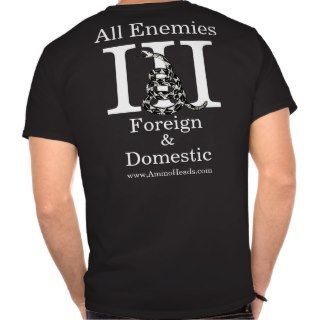 Three Percenters We Are Everywhere Tee Shirts