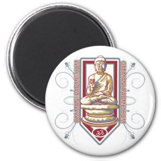 Buddha Om Mani Padma Hum Fridge Magnets