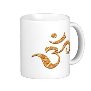 Ohm Symbol in Bronze (Mug)