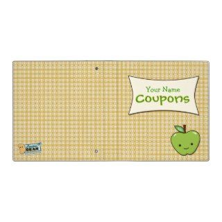 Cute Apple Coupon Binder