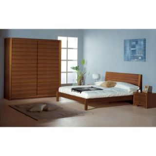 Alpha Platform Bed   Teak   Beds