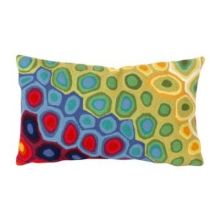 Liore Manne Pop Swirl Multi Rectangle Pillow Set   Decorative Pillows