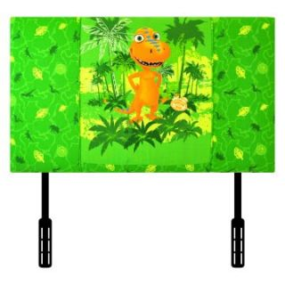 Kidz World Dinosaur Train   Buddy Green Twin Headboard   Kids