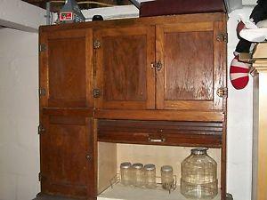 Antique Hoosier Cabinet Racks Glassware Stainless Shelf Pick Up Cent New Jersey