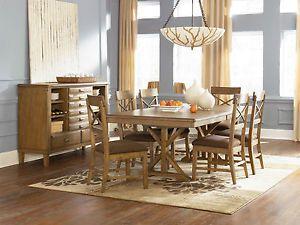 ... Ashley Furniture Danbury Heights Dining Room Set 7 Piece D601 01 45BT  ...