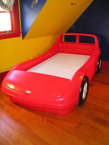 Big Red Race Car Bed