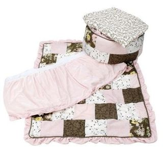Wendy Bellissimo Floral Patchwork Kidsline 5pc Crib Set