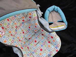 Replacement Car Seat Cover Infant SnugRide Graco Winnie The Pooh