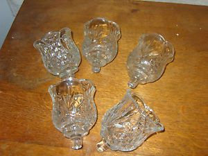 home interior votive cup candle holders set of 5 sconce cups homco