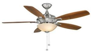 Hampton Bay Springview 52 inch Ceiling Fan Light Kit w Oil Rubbed Bronze Finish