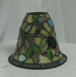 Vintage Stained Glass Lamp Chandelier Ceiling Fan Shades Globes