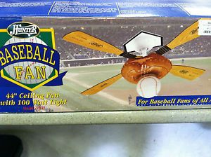 Hunter ceiling fan mounting plate bracket set of 2 hunter ceiling fan 44 baseball model aloadofball Gallery