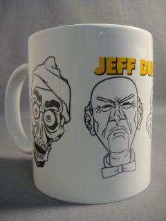 Jeff Dunham Achmed Walter Peanut Bubba Coffee Mug New