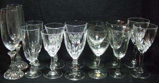 Mikasa Crystal Champagne Flutes