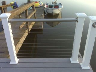 Stainless Steel Railing Deck Railing Cable Rail Stainless Tubing