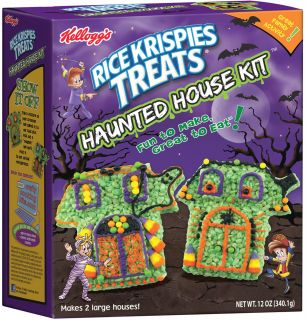 Kellogg's Rice Krispies Treats Halloween Haunted House Kit