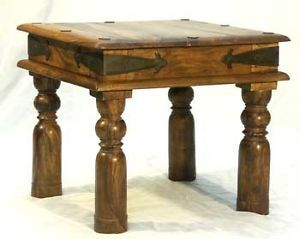 Indian Jali Thakat Small End Table 45x45cm