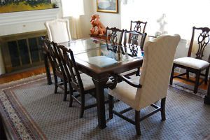 Black Cherry Ethan Allen Dining Room Set