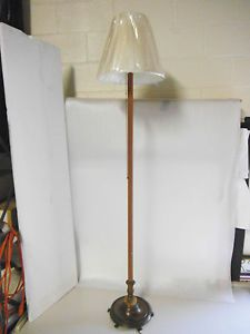 Vintage Marble Brass Floor Lamp Light Stand Free Standing Pole Light Lighting
